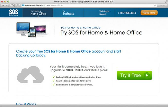 SOS Online Backup Get the free 14 day trial