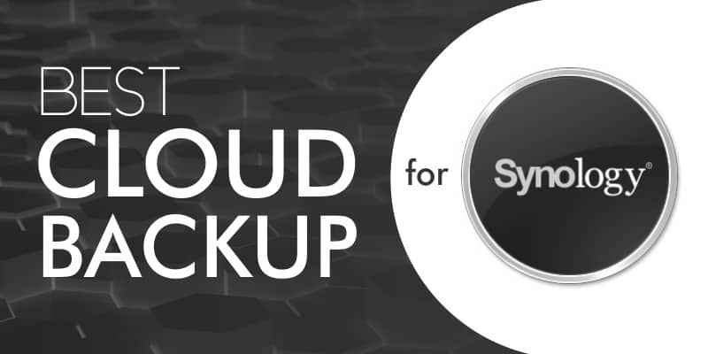 Best Cloud Backup For Synology 2019