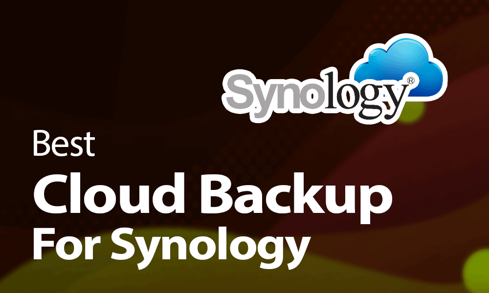 best cloud backup for synology