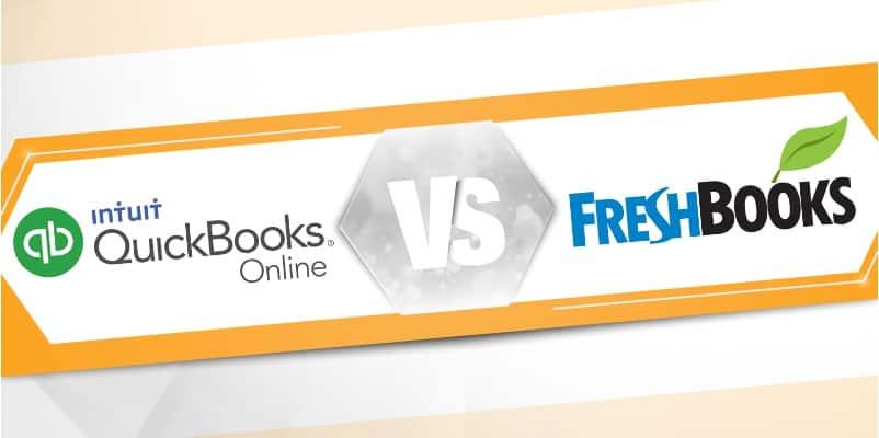 FreshBooks vs  QuickBooks Online - Updated 2019