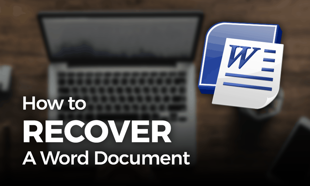 how to recover a word doc