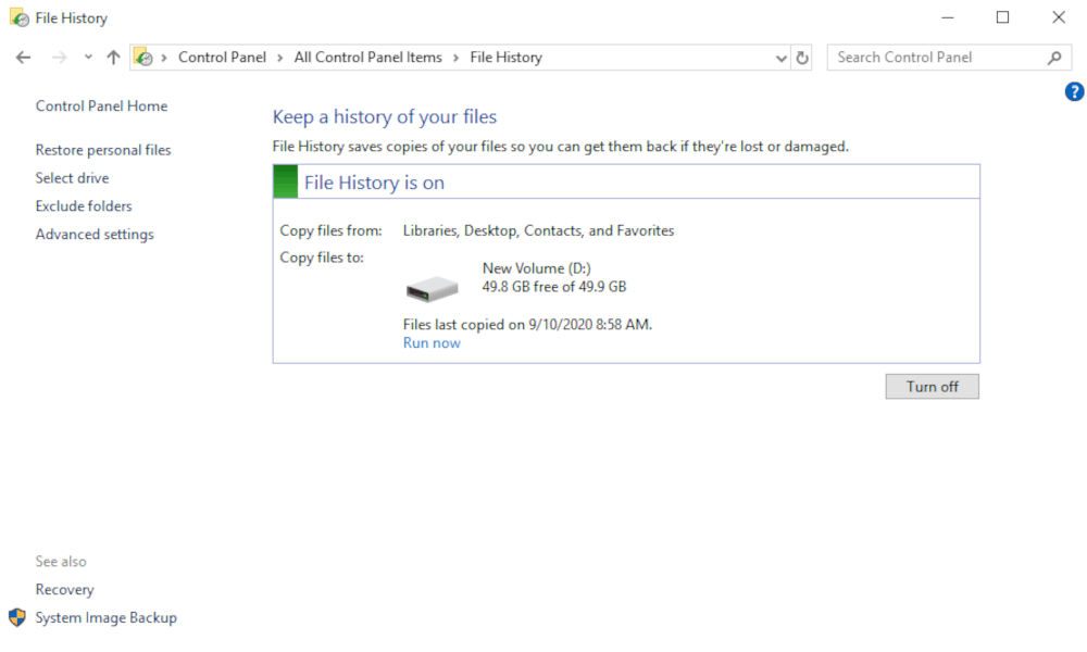 How To Backup Windows 10 In 2021 For System And File Backup