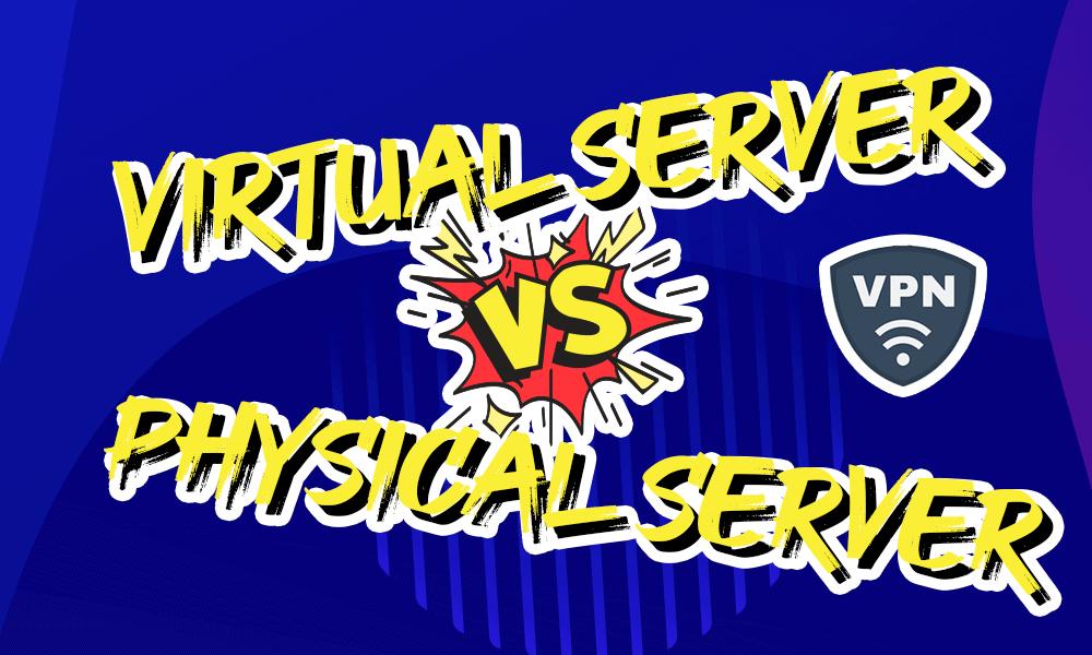 Virtual server vs physical server