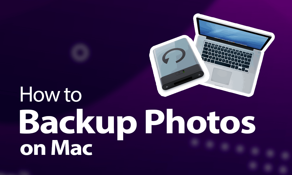 how to backup photos on mac